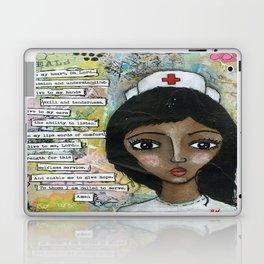 Nurse - African American  Laptop & iPad Skin