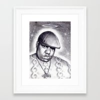 notorious Framed Art Prints featuring Notorious by DaeSyne Artworks
