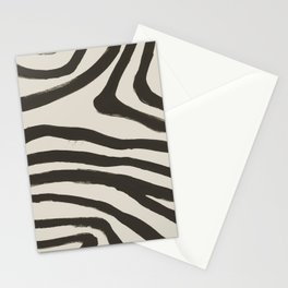 Painted Zebra Stationery Cards