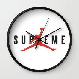 supreme jump Wall Clock