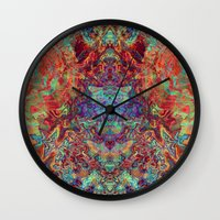 supreme Wall Clocks featuring Supreme by GypsYonic