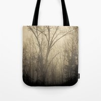 inner demons Tote Bags featuring Inner Demons by Olivia Joy StClaire