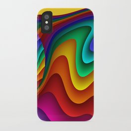 fluid -23- iPhone Case