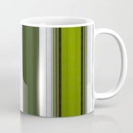 Green Embossed lines Coffee Mug