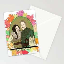 Outlaw Queen Autumn Love - Once Upon A Time's Regina and Robin Stationery Cards