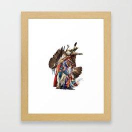 Eagle Dancer Framed Art Print