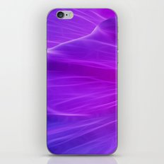 Purple Poppy Petal iPhone & iPod Skin