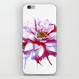 Bleeding Lotus iPhone Skin