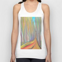 infinity Tank Tops featuring infinity by Loosso