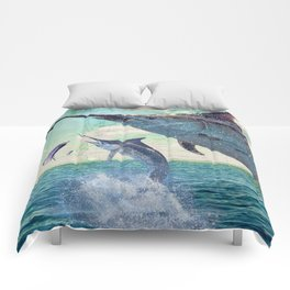 Catch a Marlin if You Can Comforters