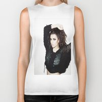 charli xcx Biker Tanks featuring What I Like ~ Charli xcx by Michelle Rosario