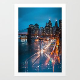 Evening Reflections Art Print