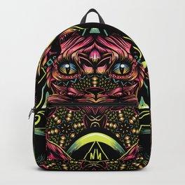 Sphynx floral color Backpack