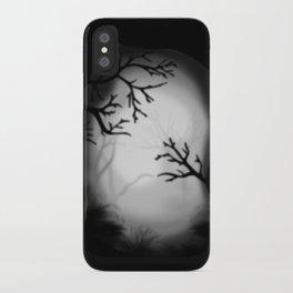 Dark paysage iPhone Case