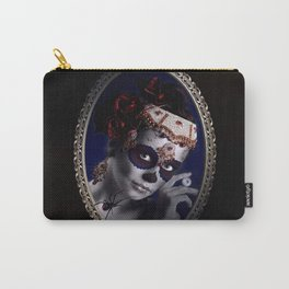 Lovely Sugarskullgirl Carry-All Pouch