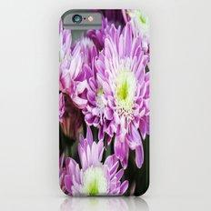 Purple Flowers iPhone 6s Slim Case