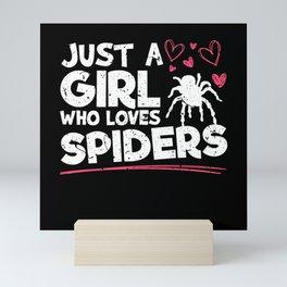 Halloween Scary Spider Tarantula Monster Mini Art Print