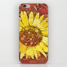 :: Sunflower Wishes :: iPhone Skin