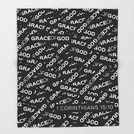 Grace of God Throw Blanket