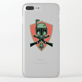 Sir Bounty Hunter Clear iPhone Case