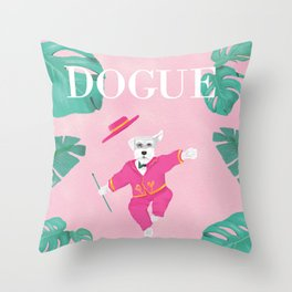 Dogue - Dance Throw Pillow