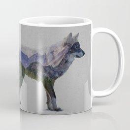 The Rocky Mountain Gray Wolf Coffee Mug