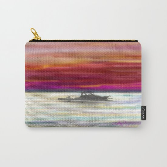 Fishing in Neon Carry-All Pouch