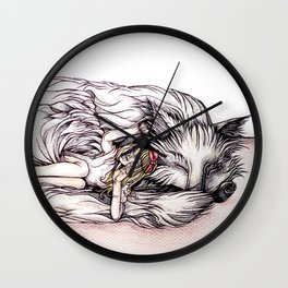 Can I Snuggle With You? Wall Clock