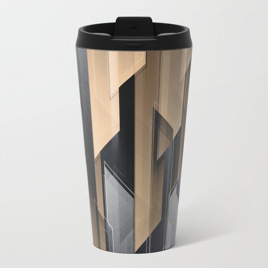 ABSTRACT 17 Metal Travel Mug
