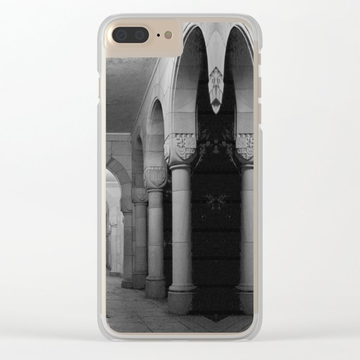 Corridors of confusion Clear iPhone Case