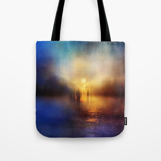 Light Echoes Tote Bag