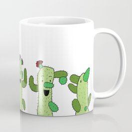 Cactus Family (colour version) Coffee Mug