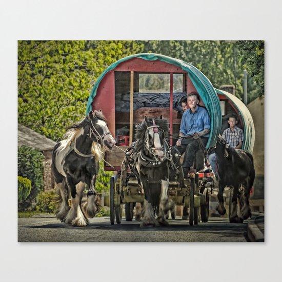 Gypsy Convoy Canvas Print