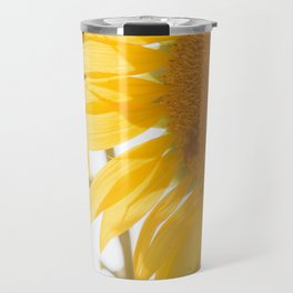 Sunflowers and Sunshine Travel Mug