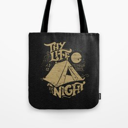 Tent for a Night Tote Bag