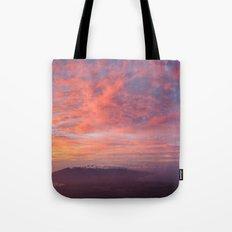 Haleakala Summit Sunset Tote Bag