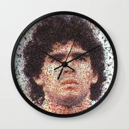 Homage to Maradona  Wall Clock