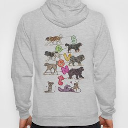 Dogs with Balloons Hoody