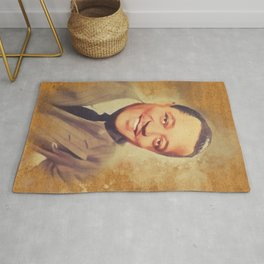 Lester Young, Music Legend Rug