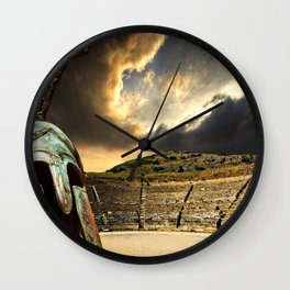 ancient Greece Wall Clock