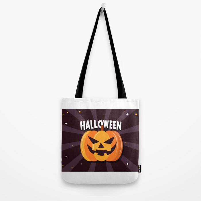 Scary Pumpkin - Happy Halloween 2 Tote Bag