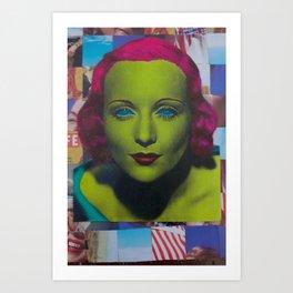 Carole Lombard Art Print