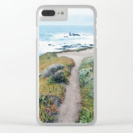 The Path to the Ocean Clear iPhone Case