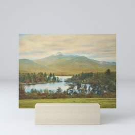 Hand Colored Photograph of Mt. Chocoura, New Hampshire 1920 Charles Henry Sawyer Mini Art Print