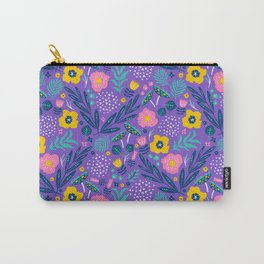 Flora Delight Carry-All Pouch