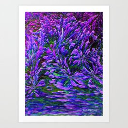 Flowers Are A Gift From God Art Print