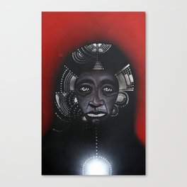 Anderson & The Tribe of Man Canvas Print