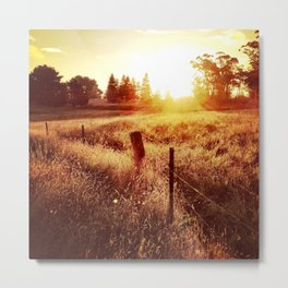 Exeter Sunset No. 1 (Color) Metal Print