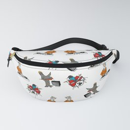 Flock of Gerrys Band Print Fanny Pack