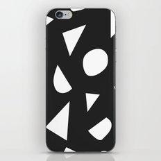 Boom on Black iPhone & iPod Skin
